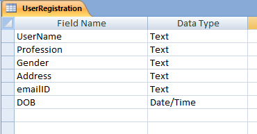 Insert Records into a Table from ASP NET Web Form