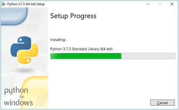 Python Setup Progress