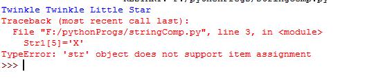 Python-String-Immutable